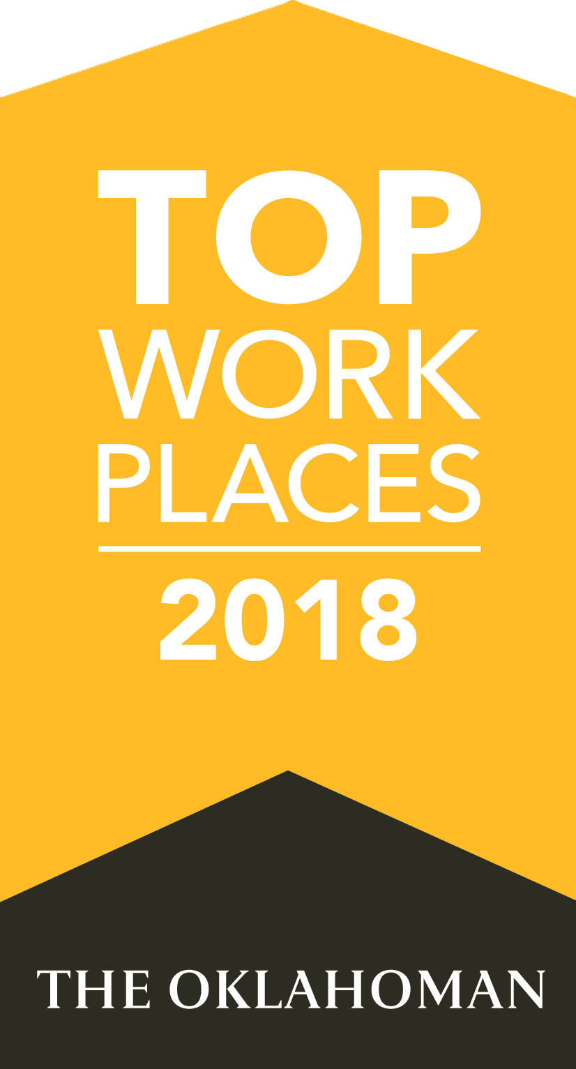 Oklahoma Top Work Places 2018